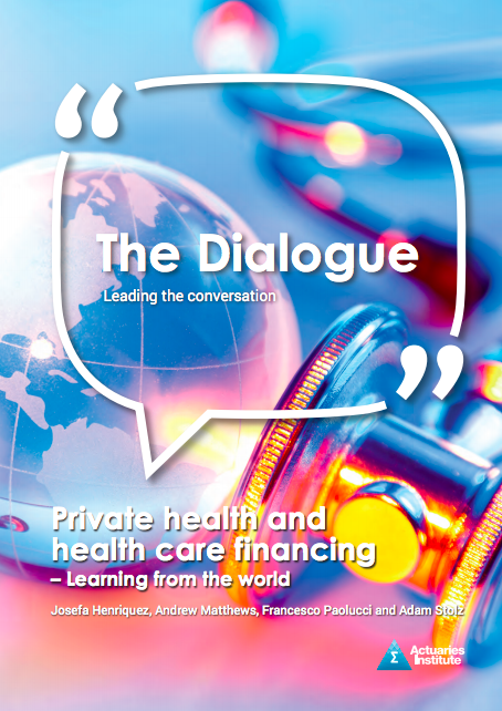 Private health and health care financing - Learning from the