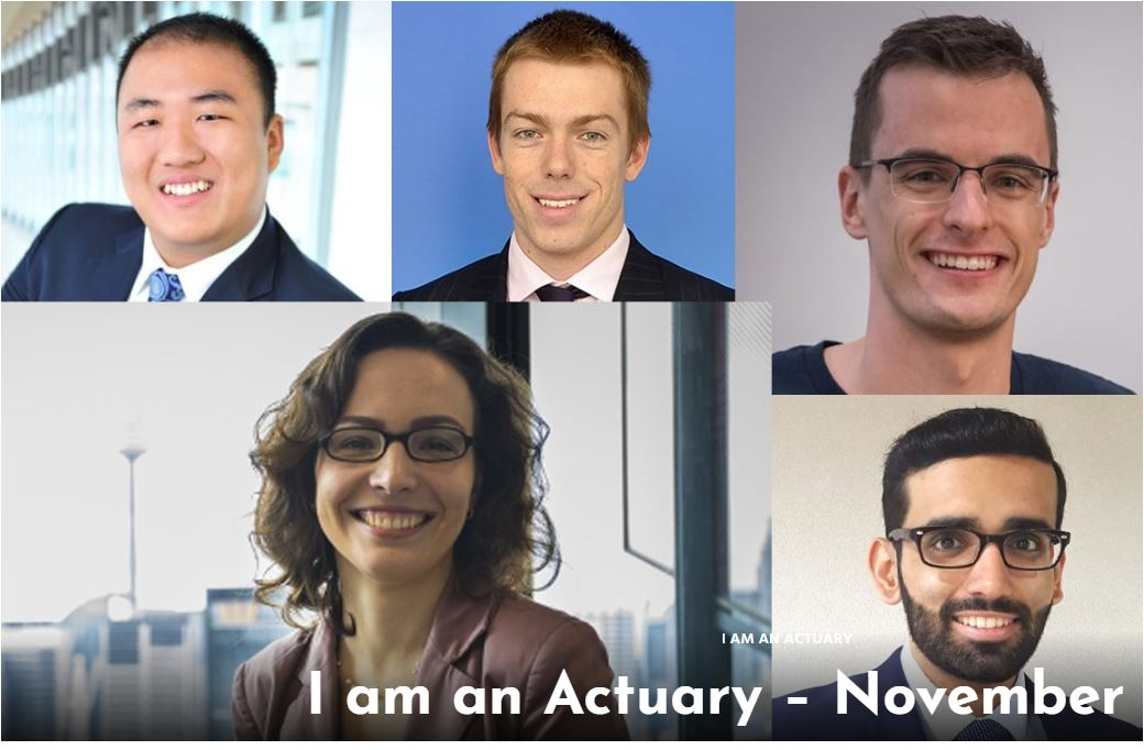 i am an actuary
