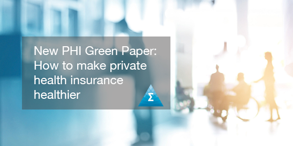 "<a href=""https://www.actuaries.asn.au/PHI"">The Institute has just released its latest green paper on PHI - How to make private health insurance healthier </a>"