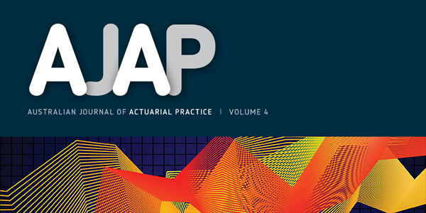Volume 4 of the Australian Journal of Actuarial Practice is now available online.